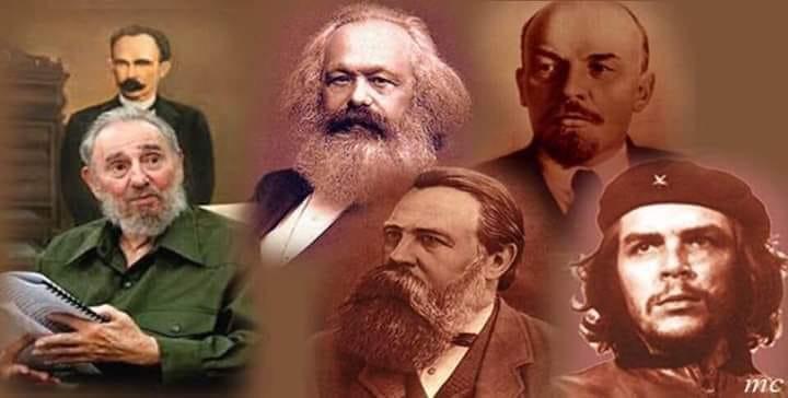 El capital la revolución rusa y el che