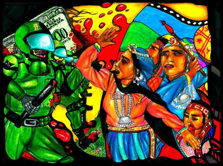 Ante los graves ataques sufridos anoche en Curacautín, Victoria y Traiguén  contra la lucha mapuche. Declaramos: - ContrahegemoniaWeb