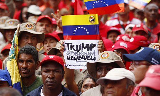 Las sanciones de Estados Unidos contra Venezuela son mortales y enfrentan  una resistencia masiva - ContrahegemoniaWeb